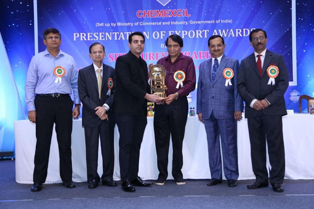Honoured with TRISHUL Award