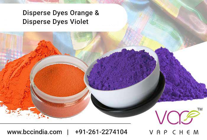 Disperse Orange & Disperse Violet